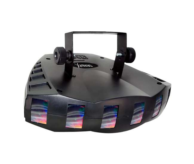 DERBY-X + LTS-6 + H700 + BLACK-24BLB Chauvet DJ Strobe Lighting Effect | Light Stand | Fog Machine | Black Light Tube