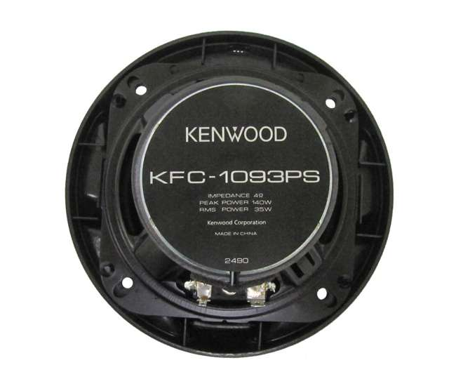 KFC1093PS 4) Kenwood KFC-1093PS 4-Inch 560 Watt 3-Way Car Audio Speakers KFC1093PS (2 Pair)