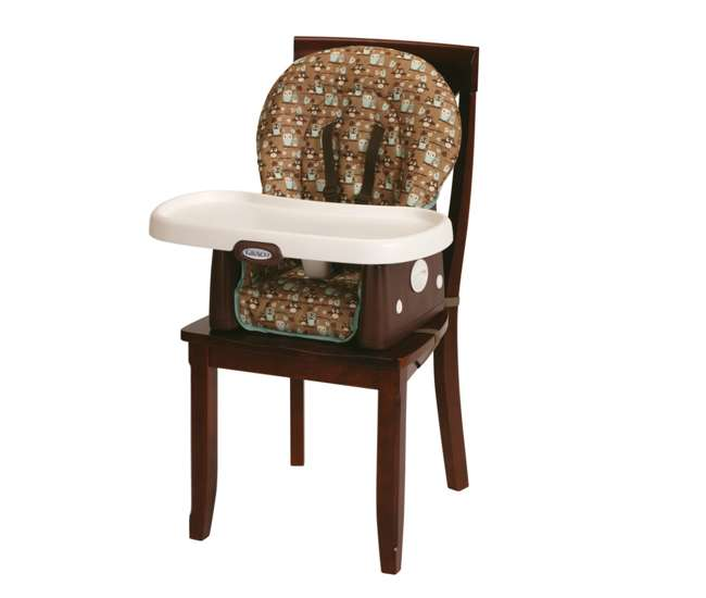 Graco SimpleSwitch Highchair u0026 Booster - Little Hoot : 1852646 : VMInnovations.com