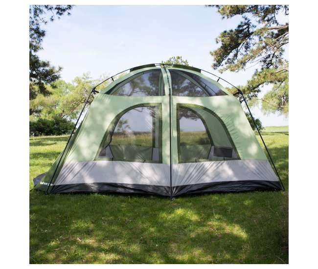 TGT-JASPER-7 Tahoe Gear Jasper 7 Person Small to Mid-Sized Family Cabin Dome Tent