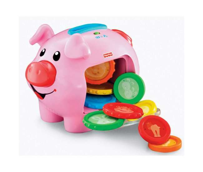 J2462 Fisher Price Laugh & Learn Learning Piggy Bank   J2462