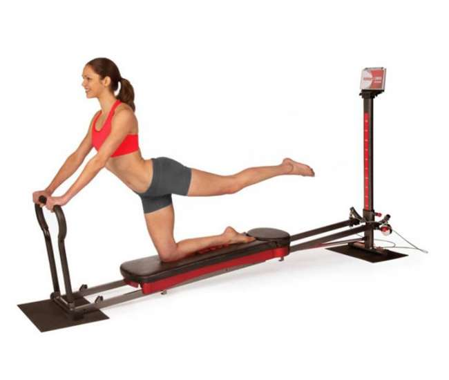 Total gym home leg exercise machine and dvds r