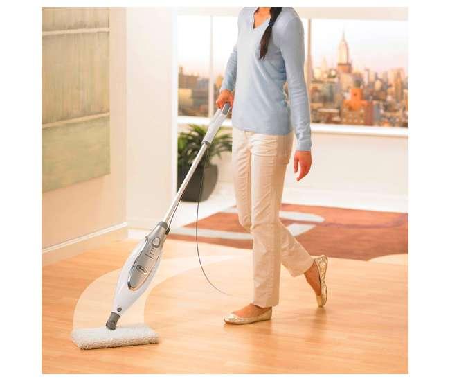 Shark professional steam dust mop and scrub pocket mop for Steam clean garage floor