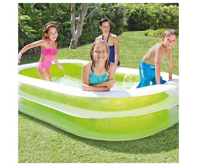 56483EPIntex Swim Center Inflatable Family Swimming Pool