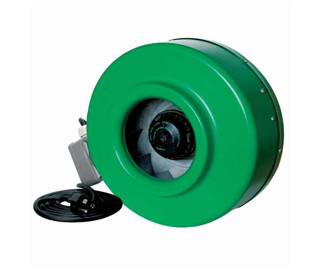 V In Line Fans : Hydrofarm acdf active air inch in line fan cfm