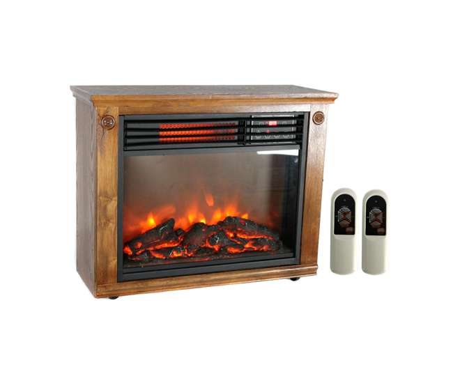 Lifepro 3 Element Electric Fireplace Heater Ls 1111hh