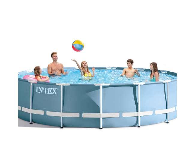 intex 24 feet x 52 inches prism frame pool set 28761eh. Black Bedroom Furniture Sets. Home Design Ideas