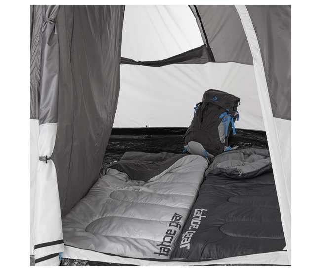 TGT-PADRIO-8-U-A Tahoe Gear Padrio 13 x 9 Foot 8 Person Tent with 2 Room Configuration (Open Box)