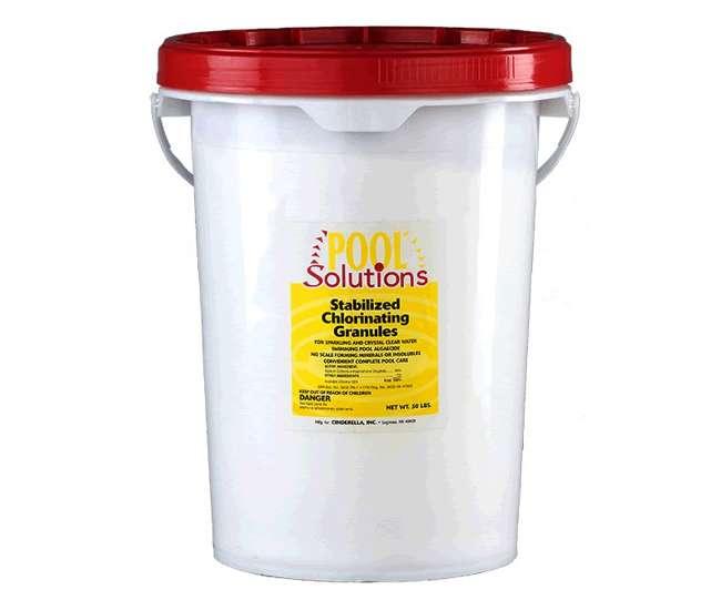 P56050DEPool Solutions Pool/Spa Chlorine Granules (50 lb Buck)