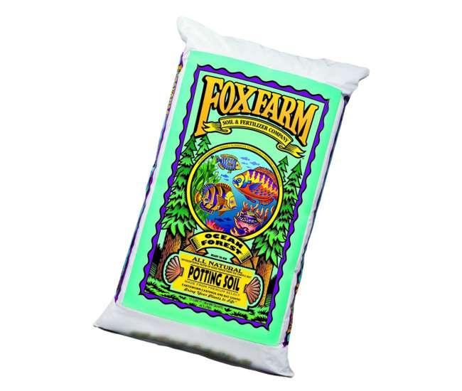 Ocean forest potting soil foxfarm fx14053 12 quart for Organic soil brands