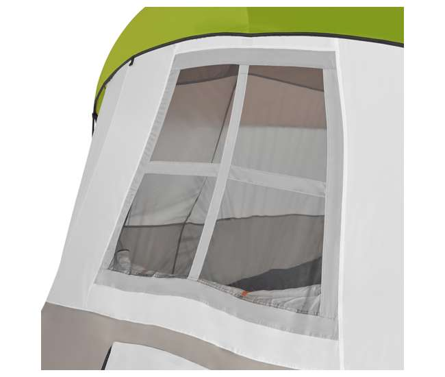 TGT-OLYMPIA-10-B Tahoe Gear Olympia 10 Person 3 Season Outdoor Camping Tent, Green and Orange