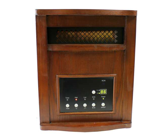 LS-PP1800-6WCHLifeSmart 1500W Plus Infrared Quartz Heater | LS-PP1800-6WCH