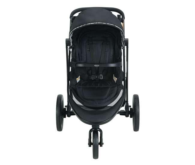 2048703-U-A Graco Modes 3 Essentials LX Folding Baby Stroller, Teigen Black (Open Box)