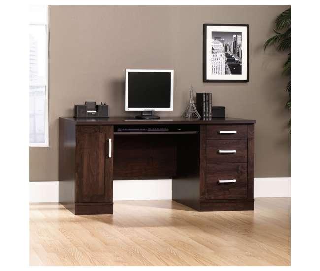 sauder furniture office port collection computer credenza