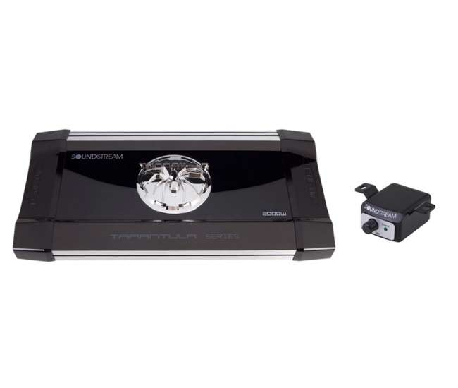 TX1.2000DSoundstream TX1.2000D 2000 Watt Tarantula Car Audio Amplifier