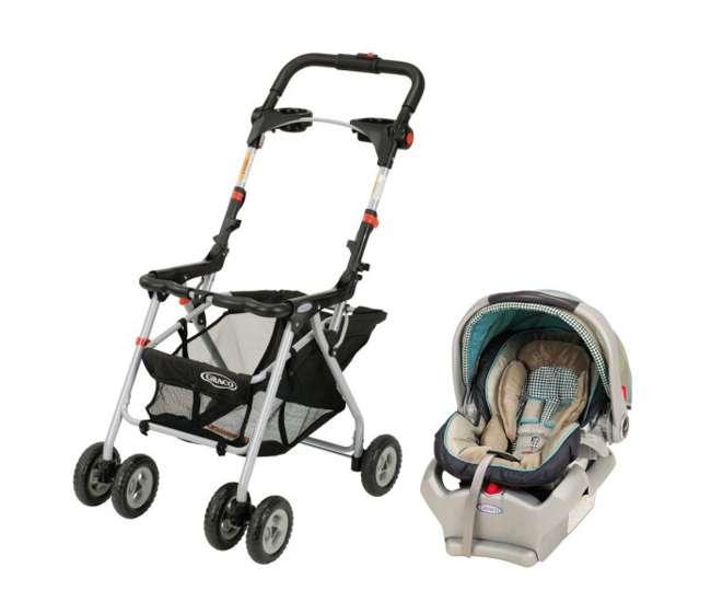 graco snugrider stroller frame snugride 35 infant car seat combo clairmont 6001bcl1. Black Bedroom Furniture Sets. Home Design Ideas