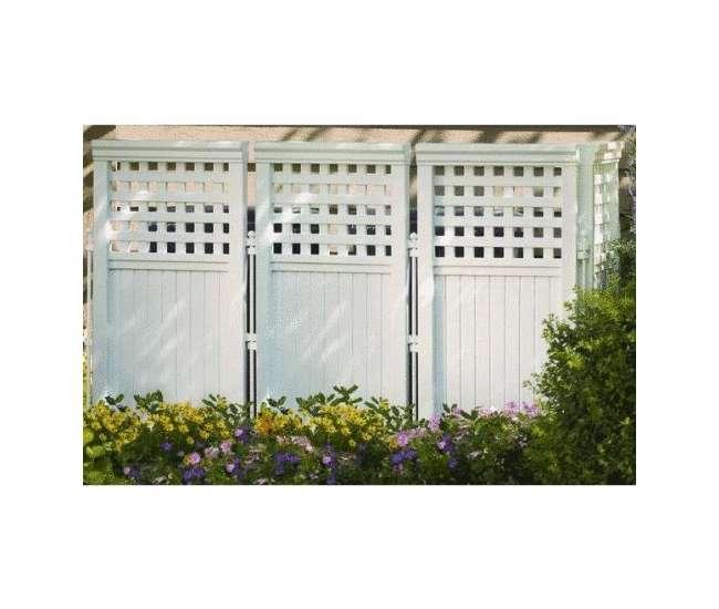 FS4423Suncast Outdoor Screen Enclosure (White) | FS4423