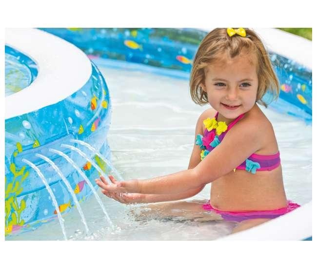 Intex Sun Shade Inflatable Froggy Fun Baby Swimming Pool 57143ep