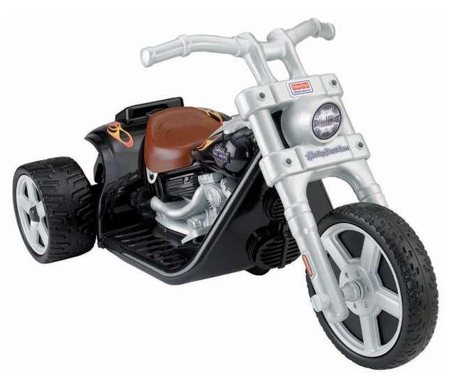 X0067 Power Wheels Harley Davidson Motorcycle Rocker 6-Volt Electric Ride-on | X0067