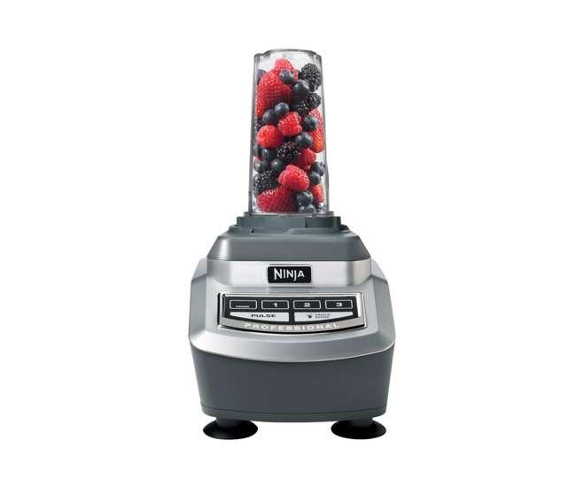 Ninja Professional 1100-Watt Blender with 2 Single-Serve ... Ninja Professional Blender 1100 Watts