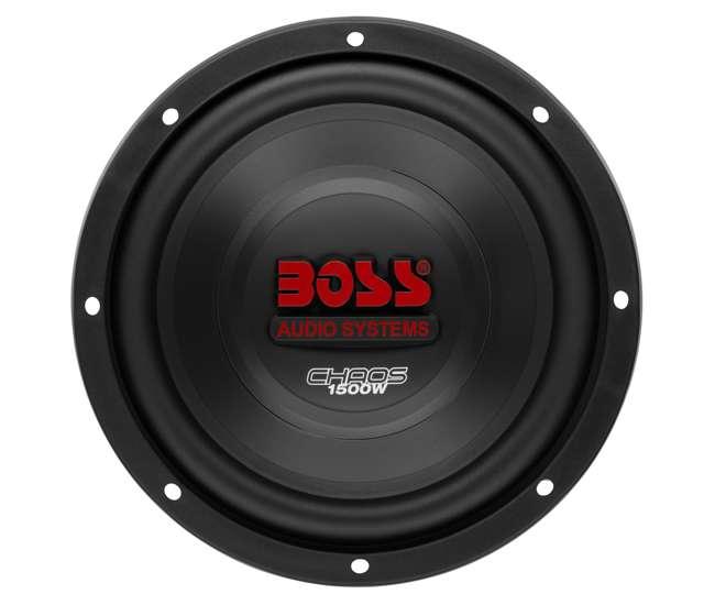 "CH10DVC + VM10SEALED + AR16002 +AKS8 2) Boss CH10DVC 10"" 3000W Car Subwoofers Subs+Sealed Box Enclosure+Amp+Amp Kit"