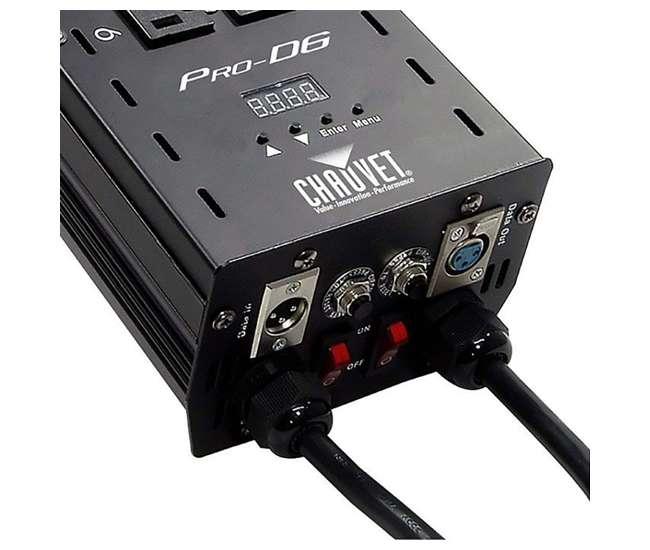 PRO-D6 Chauvet DJ Pro D6 6-Channel DMX Dual Dimmer Switch Relay Pack (2 Pack)