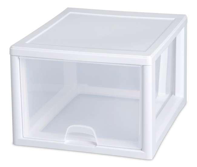 4 x 23108004 Sterilite 2310 27-Quart Stacking Drawers (4 pack)