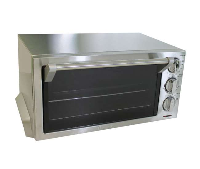 Delonghi toaster oven w broiler stainless steel eo1260 for Toaster oven stainless steel interior