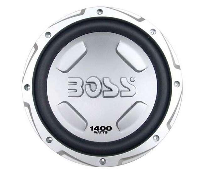 """CX122 + AR1500M + AKS8 BOSS AUDIO CX122 12"""" 1400W Car Power Subwoofer Sub + Mono Amplifier+ Amp Kit"""