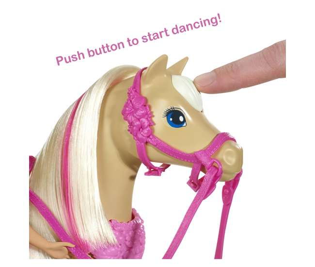 DMC30 Barbie Dancin' Fun Horse from the Puppy Chase Movie
