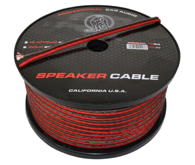 Speaker Cable Under 200 : bullz audio 12 gauge 200 ft flexible speaker cable wire red ~ Vivirlamusica.com Haus und Dekorationen