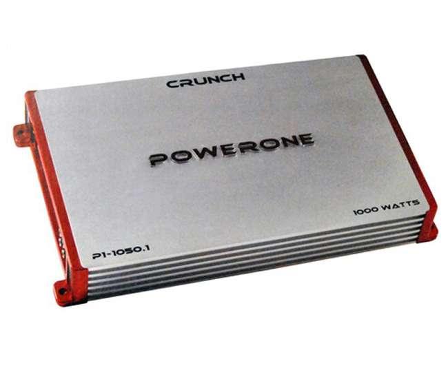 P110501Crunch Powerone P1-1050.1 1000W Mono Amplifier