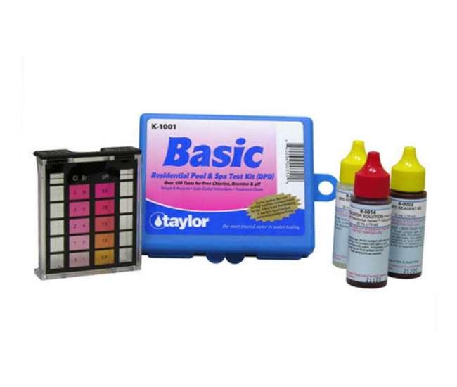 Taylor K 1001 Basic Pool Test Kit Dpd K1001