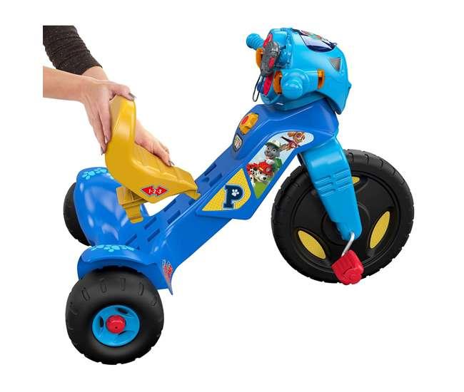 DWR65 Fisher-Price Nickelodeon Paw Patrol Tough Trike Light Up Kid's Tricycle Ride On
