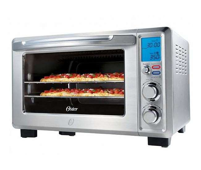 Oster Countertop Convection Oven Tssttvf816 : TSSTTVDFL1 Oster Convection 6-Slice Digital Toaster Oven, Stainless ...