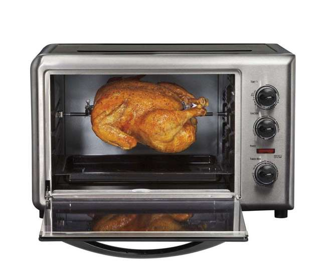 Hamilton beach pizza toaster oven with convection for Hamilton beach pioneer woman slow cooker