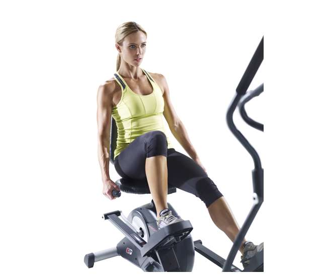 Elliptical Sit Down Bike: ProForm Hybrid Elliptical & Exercise Bike (Refurbished