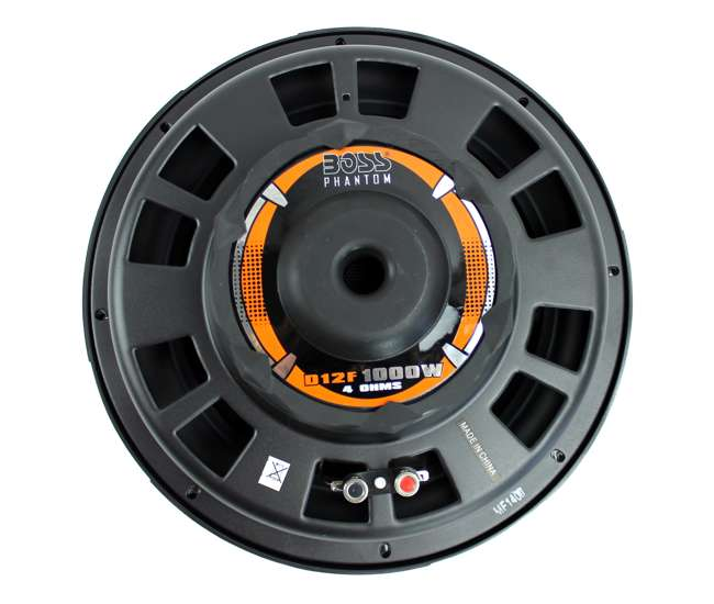 D12F Boss Audio D12F 12-Inch 1000W Shallow Mount Subwoofer