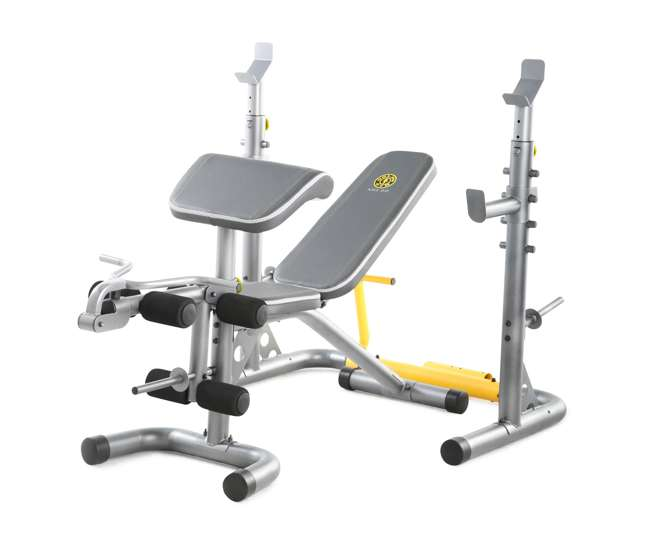 Golds Gym Xrs20 Multipurpose Olympic Weight Bench Ggbe1486
