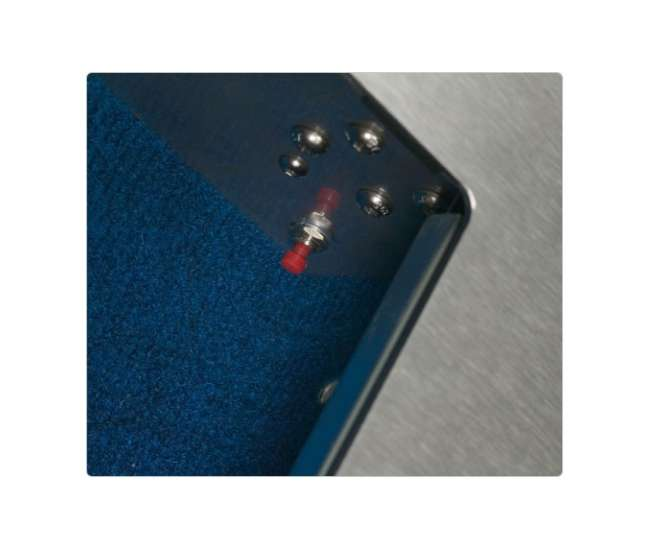 20700-WALLVAULTBiometric Vault - Secure Logic Steel Fingerprint Wall Vault