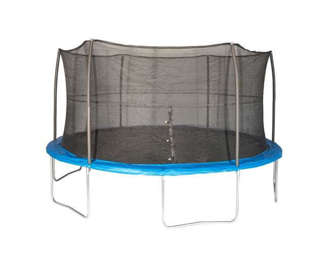 Kidwise Jumpfree 15 Ft Trampoline And Safety Enclosure: JumpKing 15-Foot Trampoline With Safety Net Enclosure