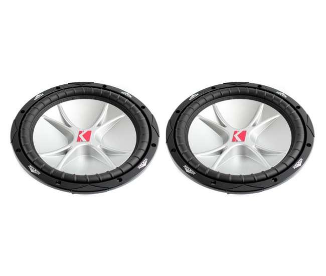 "07CVR122 Kicker CVR12 12"" COMPVR 800W Dual 2 Ohm Subwoofer (pair)"