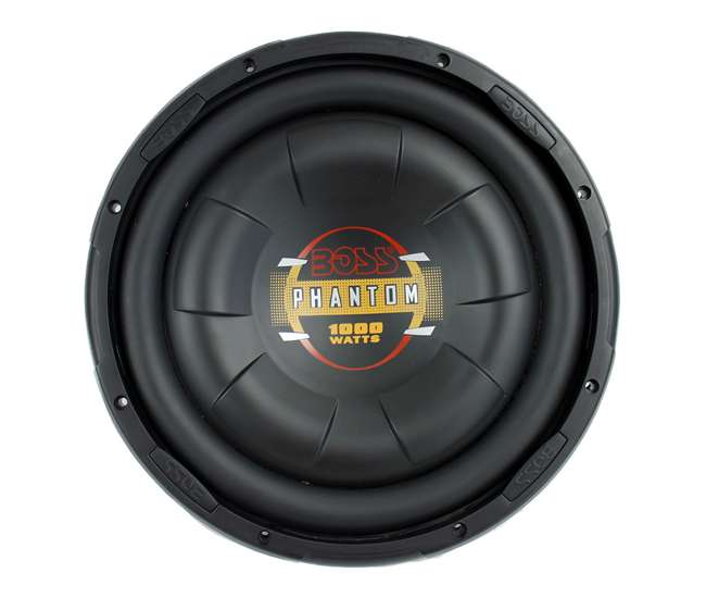 D12F Boss Audio D12F 12-Inch 1000-Watt Shallow Mount Subwoofer