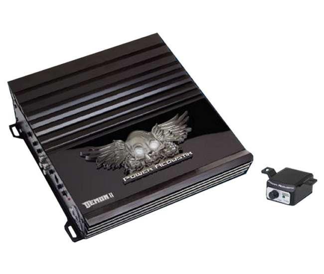 D41000BPower Acoustik D4-1000B 1000W 4 Channel Amplifier