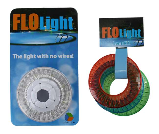 Led Flolight Above Inground Swimming Pool Wireless Flo