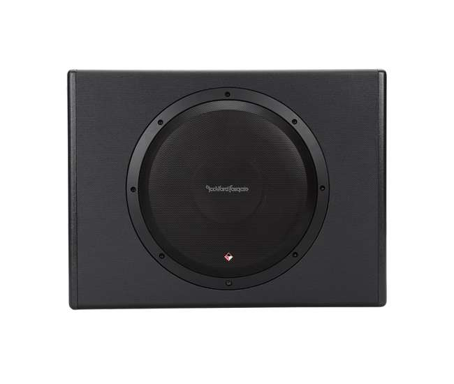 rockford fosgate p300 12 12 inch 300w single powered. Black Bedroom Furniture Sets. Home Design Ideas