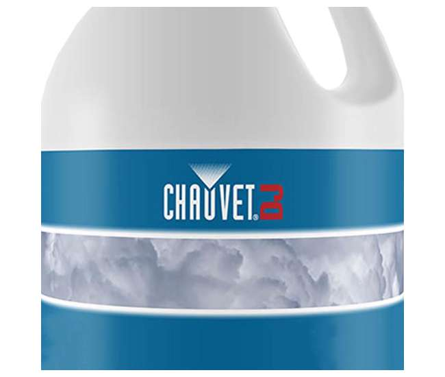 H700 + FJU Chauvet DJ Hurricane 700 Fog Machine + Fog Juice Fluid, 1 Gallon