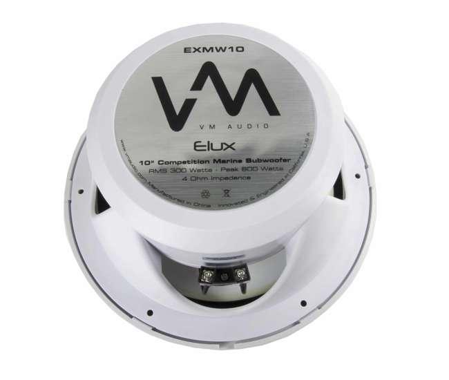 VM-EXMW10VM Audio 10-Inch Competition Marine Subwoofer   EXMW10