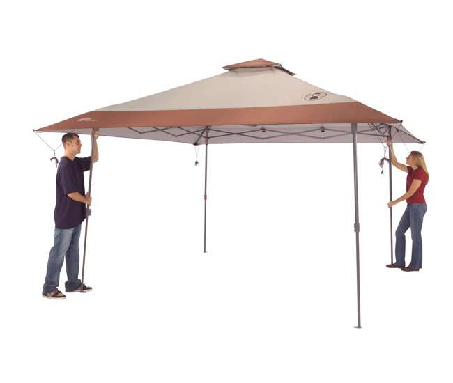 Coleman Camping Eaved Instant Canopy Shelter 13 X 13
