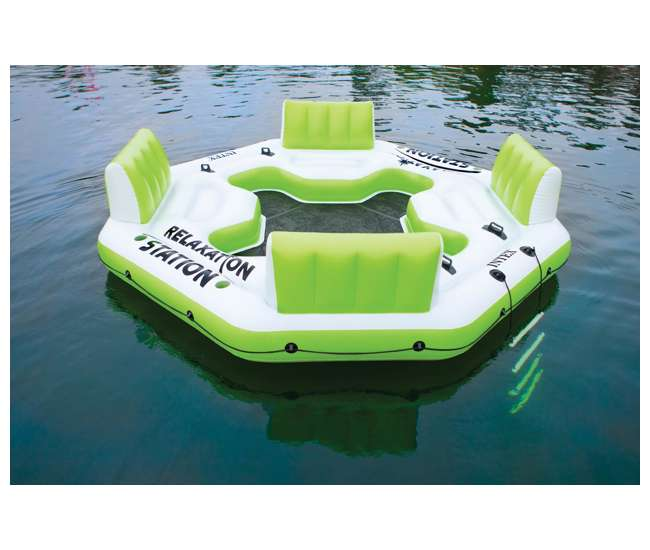 58296EPIntex Pacific Paradise Relaxation Station, Green
